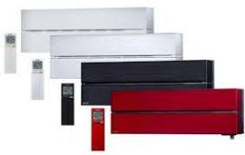Oldalfali inverteres Luxury 3,5 kW tükrös fekete MSZ/MUZ-LN35VGB